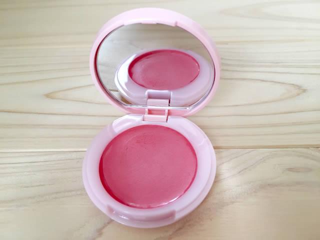 DHCのクリームチークカラー。ピンク系カラーのPK01