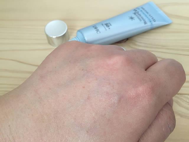 DHCの薬用ホワイトニングセラム UV。さらに3回くらいで透明に