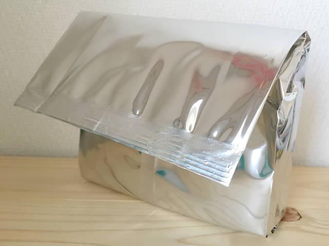 エルバランシアのルイボスティー。箱を開けたところ