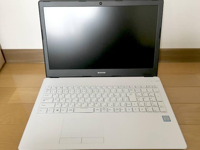 マウスコンピュータMB-B506H。正面