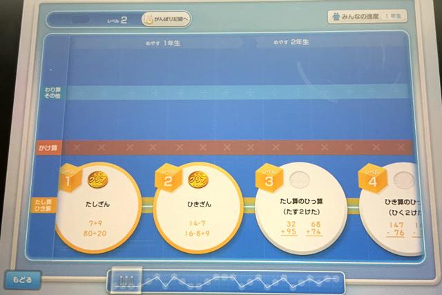 計算まるごとアプリ。小学1年から6年生まで網羅してます